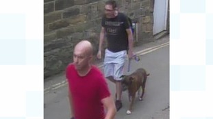 Police are looking to talk to two men about the incident in which an 11-year-old boy was injured.
