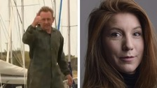 Peter Madsen and Kim Wall.