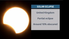 It will be hard to view the partial eclipse from the UK this time round