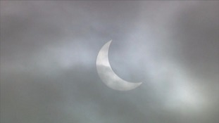 Partial eclipse visible tonight in the South West
