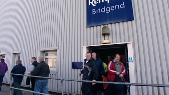 Workers at Remploy Bridgend