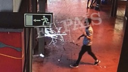 Images 'show Barcelona attack van driver moments after attack'