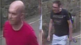 North Yorkshire Police would like to speak to these men in connection with the incident