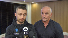 Carl Frampton confirms split with McGuigans