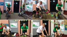 Officers raise £537 for Macmillan in Kendal Cyclothon