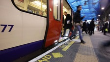 Underground passengers prefer to travel in silence