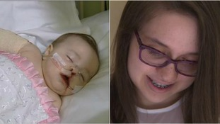 Romanian teenager reunites with UK hospital team who treated her as a baby