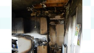Petition launched for IoM family living in caravan after house fire