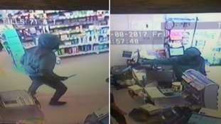 Robbery foiled after shop staff 'threw kitchen towel' at head of knifeman
