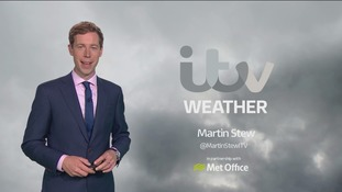 Monday evening's weather for the east of the region