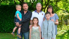 Family left covered in oil after theme park ride fails