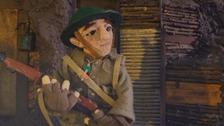 Self-taught animator makes short film inspired by great-grandfather's WW1 photos