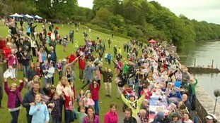 Diamond Jubilee celebrations at Plas Newydd