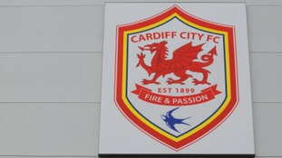Cardiff City's new red badge