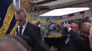 He died in a collision at Thruxton race track.
