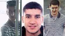 Barcelona van attack suspect shot dead by police