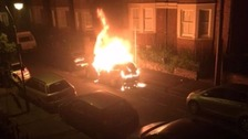 Man in court after cars set alight along Oxford street