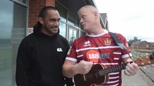 Rugby League: Wigan Warriors release cup final song