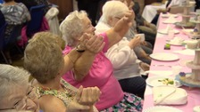 Watch: Elderly let their hair down at mini festival