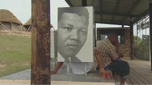 Nelson Mandela's village