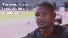 Exclusive: Justin Gatlin makes first public apology over doping past