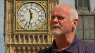 Ian Westworth from Taunton will be working to repair the clock.