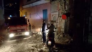 An earthquake has hit the Italian resort island of Ischia