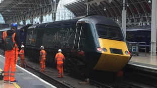 Derailed train causes delays all day for South West commuters