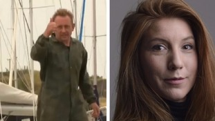 Torso of a woman found in search for Swedish journalist who went missing on amateur submarine