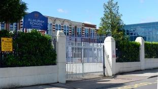 Al-Hijrah school in Birmingham.