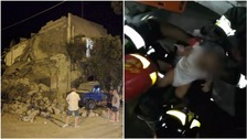 Baby pulled alive from rubble after deadly Italy earthquake