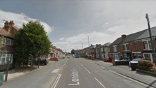 Google Map image of London Road