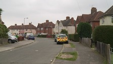 Two people have been seriously injured at an address in Hilton Road