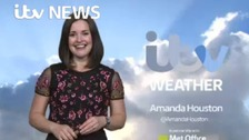 Amanda has the latest weather forecast
