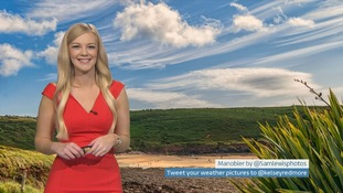 Wales weather: Sunny spells, feeling warm with the odd shower