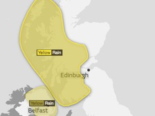 Weather Warning: Heavy rain