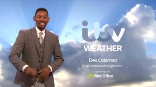 West Midlands weather: Fine and warm with the odd shower later