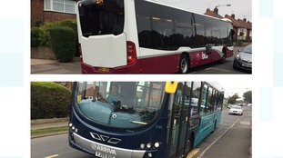 Buses in Derby