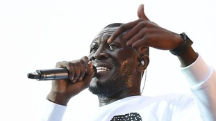 Stormzy at V Festival in Essex