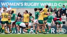 Ireland beaten by Australia at Women's Rugby World Cup