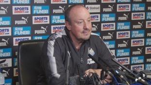 Benitez: Newcastle must cut squad before window closes