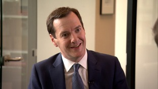 George Osborne in his only TV interview.