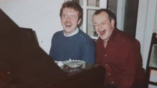 Tim Healy with Dave Whittaker