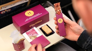 Rice Cakes on a Plane! Air fare to avoid panic in the skies