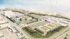 Artist's impression of the campus