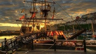 Sir Francis Drake's famous 'Golden Hind' up for sale