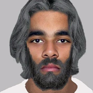 Efit of suspect police are looking for