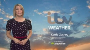 The early morning weather with Kerrie
