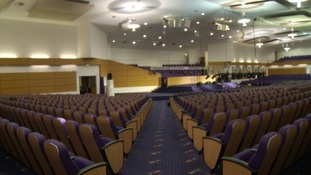 Bethel Convention Centre in West Bromwich seats 2,500 people.