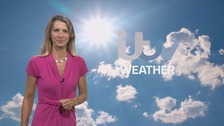 Cloudy, clearing to become fair with sunny periods